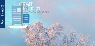 Paysage hivernal à L'Anse-Saint-Jean. Crédit photo : Cécile Hauchecorne