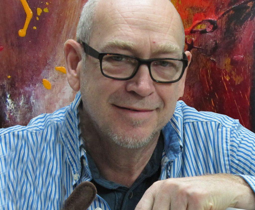 Claude Melançon, le président d'honneur du symposium d'art contemporain de Rivière-Éternité