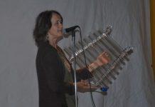 Patricia Daigneault et sa lyre de cristal ont su charmer les spectateurs de la soirée